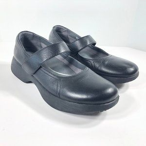 Dansko Leather Shoes Mary Janes Slip Resistant 41
